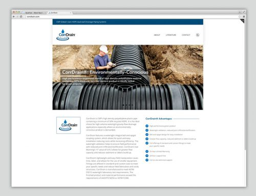 CorrDrain® website